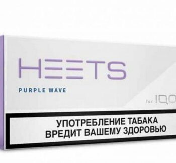 IQOS Heets Purple Wave from Parliament Russia